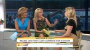 Kathie lee Gifford and Hoda Kotb with Melissa Joan Hart today show