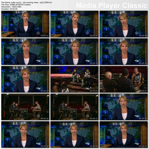 "KATIE COURIC - ""CBS Evening News"" (April 3, 2009) - *legs*"