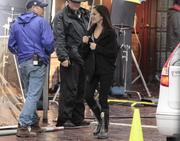 Кристин Кройк, фото 1171. Kristin Kreuk at set of 17th Precint in Vancouver - 21/03/11*for Drewy, foto 1171,
